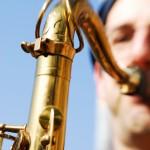 Portrait photo of Saxophonist David Layton Close Up 2
